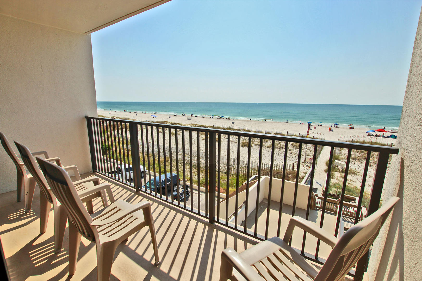 3rd Floor Gulf Front Balcony