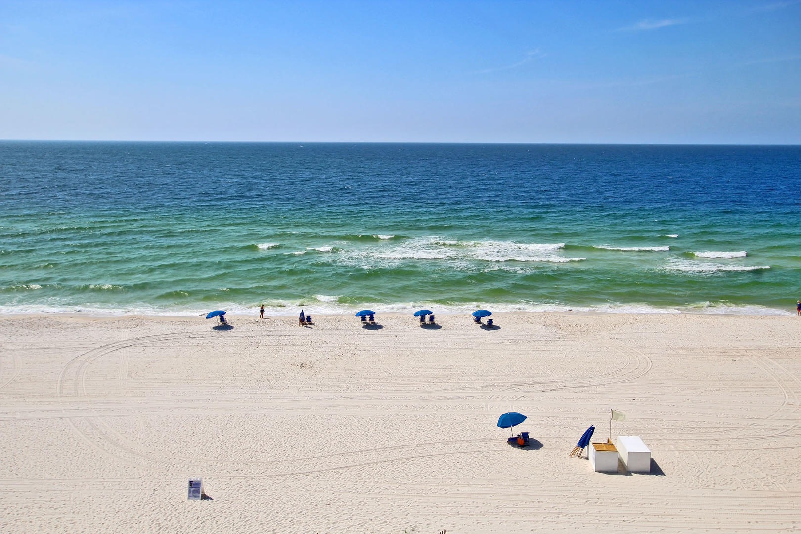 View of the Gulf from the Balcony