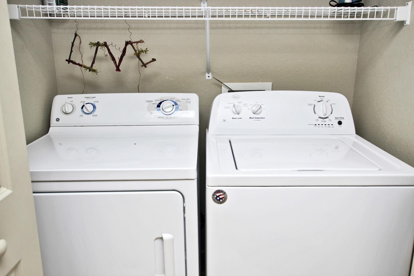 Full Sized Laundry